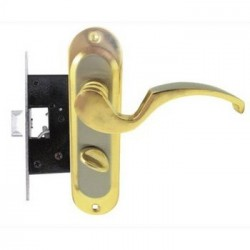 Ручка дверная FZB BK-6513