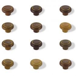 Мебельная ручка Кнопка кольцо