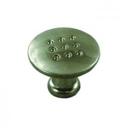 Мебельная ручка Кнопка точка (плоская)