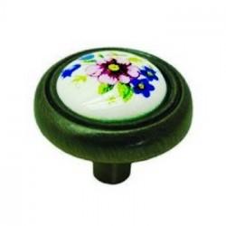 Мебельная ручка W3350 фарфоровая