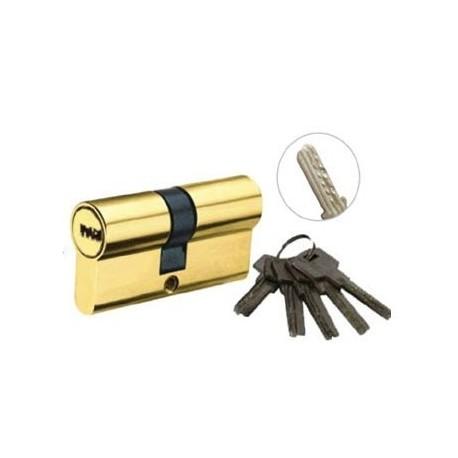 Цилиндровый механизм латунь 5 кл к/к (лаз)