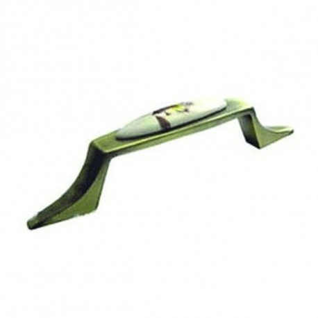 Мебельная ручка 2068 фарфоровая